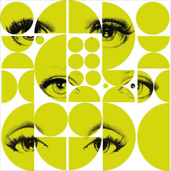 MINDTHEGAP Eyes and circles lime