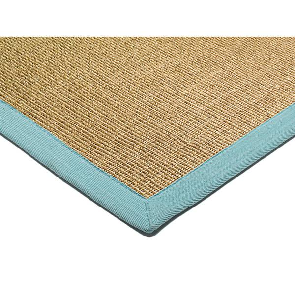 ASIATIC LONDON Sisal Linen/Aqua