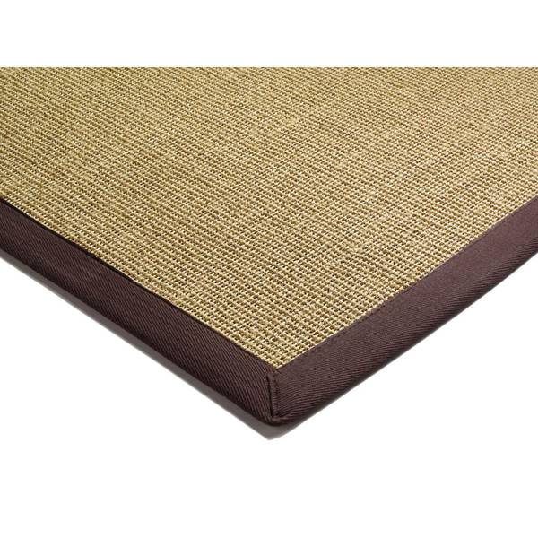 ASIATIC LONDON Sisal Linen/Chocolate