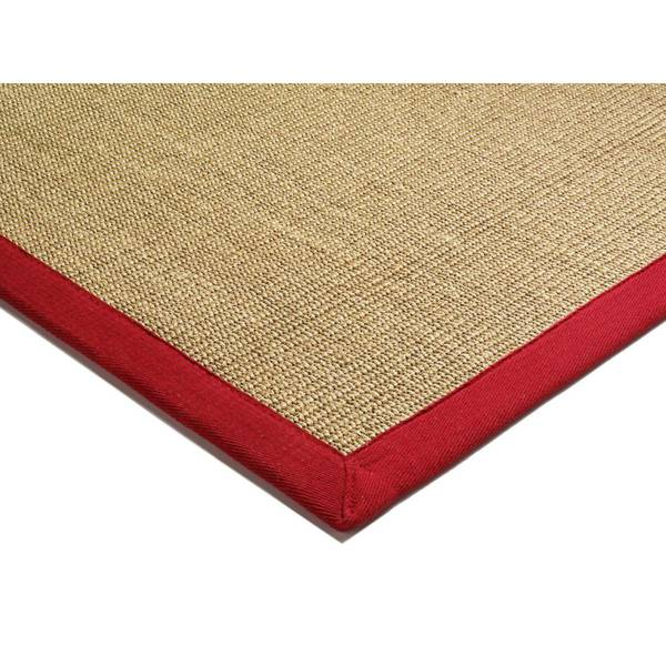 ASIATIC LONDON Sisal Linen/Red